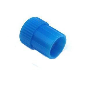 Blue Replacement Cap, Male Luer Lock, 100/Case Part No. 418027 Qty Per Case