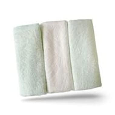 Brooklyn Bamboo Kitchen Dish Hand Towels SOFT, Absorbent More Durable Than Cotton Beautiful 3Pc Set Unique, Hypoallergenic