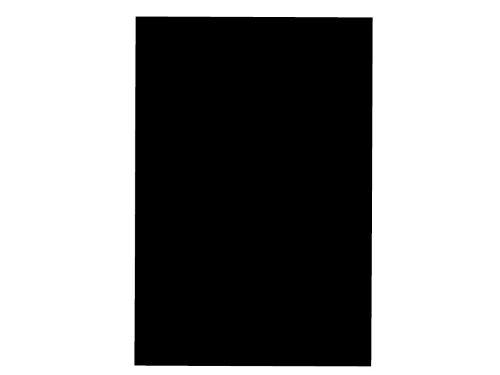 A4 Black Gloss Vinyl Self Adhesive Sheet Grade A Quality, Craft Robo Silhouette Cameo Abelli