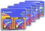 Fuji 2-Pack of IBM-Formatted Zip Disks (25271110) by Fuji