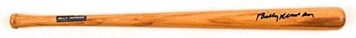 Signed Billy Herman Baseball Bat - d 1992 LS Hall Of Fame HOF Mini COA - JSA Certified - Autographed MLB (Fame Mini Bat)