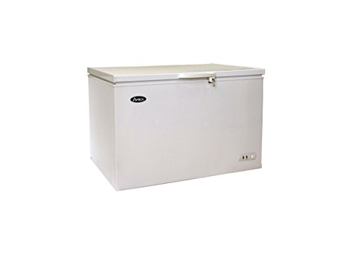 Atosa MWF9016 Solid Top Chest Freezer 16 Cubic Feet