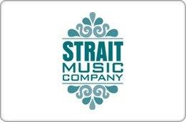 Strait Music Company Gift Certificate ($50)