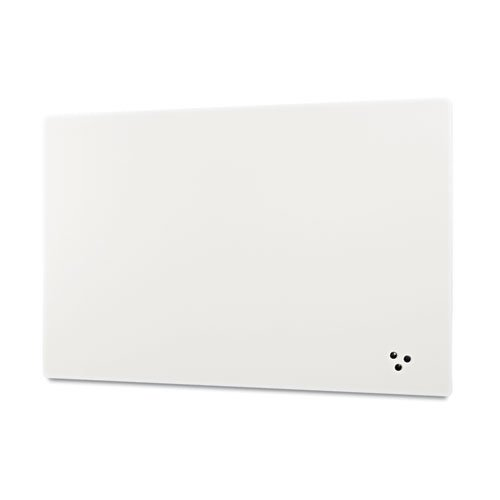 Best-Rite - Elemental Frameless Markerboard, Porcelain Steel, White Glossy, 48 x 48 x 1/8 208JD-25 (DMi EA by Best-Rite