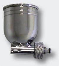 Pezzo di ricambio per aerografo: serbatoio del colore in metallo da 7 ml Sistema di aspirazione WilTec