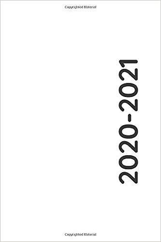 2020 2021: Agenda giornaliera 12 mesi, Diario scolastico, Agenda
