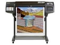 Printer Thermal Designjet (HP Designjet 1055CM Plus Thermal Inkjet Large-Format Printer (C6075B))