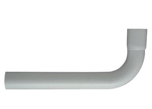 Cornat CSPRB9000 Spülrohrbogen 90 Grad mit Muffe, weiß