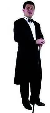 Men Small (36-38 Jacket) New Formalities Tuxedo (Formalities Tuxedo Costumes)