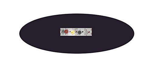 - Black Felt Poker Table Cover - Fitted Bonnet - FOR Round 48