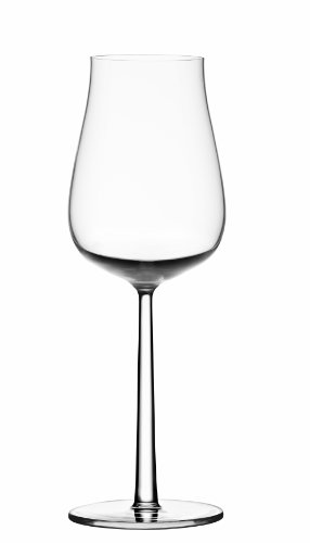 Iittala Essence Plus White Wine Glasses, 13.75-Ounce, Set of 2 (Champagne Glass Iittala)