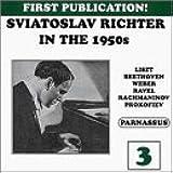 Sviatoslav Richter in the 1950's, Vol. 3