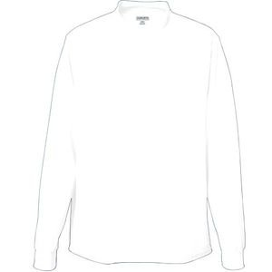 Augusta Sportswear Mens Wicking Mock Turtleneck White Large