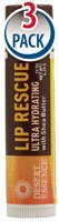 Desert Essence Lip Rescue Ultra Hydrating with Shea Butter - .15 oz (Pack of 3)
