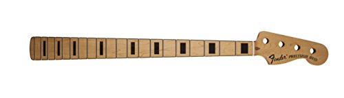 Fender Precision Bass Neck with Block Inlays - Maple Fingerboard