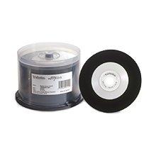 Verbatim CD-R, 94550, 700MB, 52X, Digital Vinyl White Inkjet Printable, 50PK Spindle, TAA [Non - Retail Packaged]