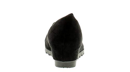 8 Comfort Femmes Noir Florence Compensée 3 Tailles Plus Semelle 8r8xf4q