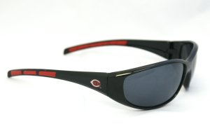 MLB Cincinnati Reds 3-Dot Wrap - Red Sunglasses Dot