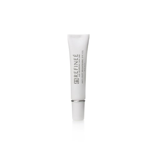 Refinee Anti-Puff Brightening Eye Gel for Under Eye Bags & Dark Circles .5oz