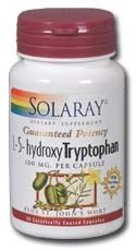 Solaray 5-HTP 100mg plus Millepertuis - 30 Capsules