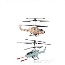 Microgear EC10220-2X RC Shark Shooter 3 Channel Electric Helicopter (3 Channel Electric Helicopter)