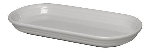 Fiesta 12-Inch by 5-3/4-Inch Bread Tray, White (Best Price On Fiestaware)