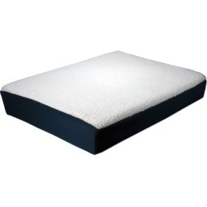QVS Lasting Comfort Foam with Gel Insert Seat Cushion - Gel Foam Cushion