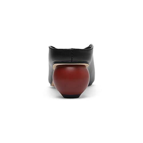EU 36 Compensées Noir Noir 5 APL11088 Femme Sandales BalaMasa 47PZAqx
