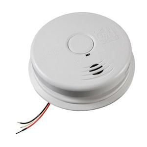 Kidde 21010407-A i12010S Worry-Free Smoke Alarm With Sealed Lithium Battery Backup 120 Volt AC - 3 Pack ()