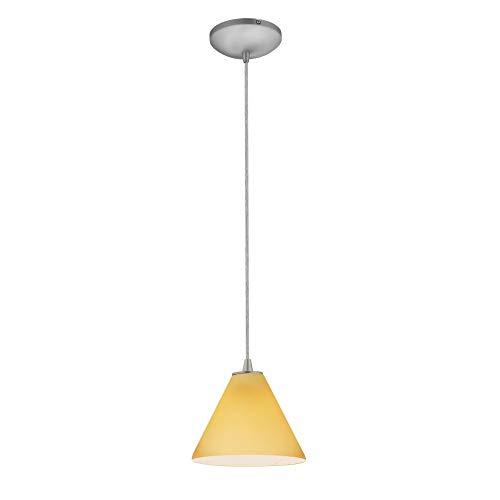 (Access Lighting 28004-3C-BS/AMB Martini - 7