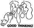 Sign Language Rubber Stamps (Good Thinking! Stamp)