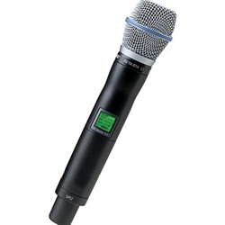 Shure UR2/BETA87A UHF-R Wireless Handheld Transmitter with Beta 87A Microphone
