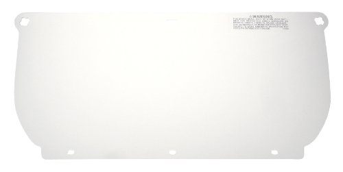 3M Clear Polycarbonate Faceshield WP98, Face Protection 82543-00000, Flat Stock