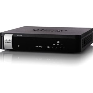 Cisco RV130 VPN Router - 5 Ports - No - No - SlotsGigabit Ethernet - RV130-K9-NA by Generic