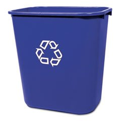 RCP295673BLU - Deskside Paper Recycling (Deskside Paper Recycling Containers)