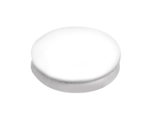 "JG Finneran 601010-10 PTFE Septum for Screw Thread Closure, 10mm Diameter, 0.010"" Thick, White (Case of 1000)"