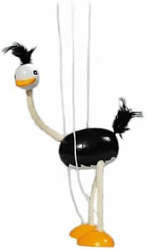 GoKi SO104 Ostrich Marionette B000EGFK6O Puppets