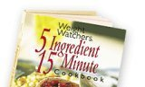 Weight Watchers 5 Ingredient, 15 Minute Cookbook, Weight Watchers, 0848725255