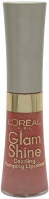L'Oreal Glam Shine Dazzling Plumping Lipcolour 405 After ()