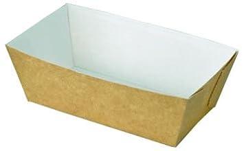 10 moldes para pan de molde, de cartón, desechable, de Bakery Direct: Amazon.es: Hogar