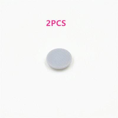 Replace Psp Analog Stick - Gametown® 2 PCS Analog Joystick Stick Button Controller Cap Thumbstick for Fat PSP 1000 PSP 1001 (Gray)