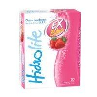 Hidrolite EX Bloc Strawberry Flavor 30 effervescent tablets.