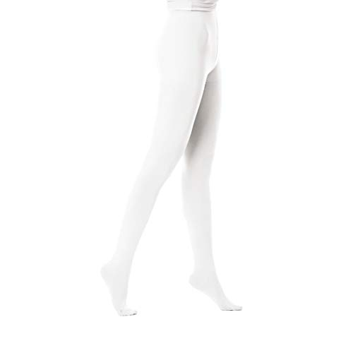Women's Tights 50 Denier Tights Opaque Color Footed Pantyhose With Control Top 1 Pair Great For Workout Cosplay & Daily Use ()