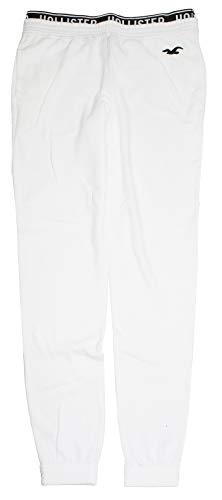 Hollister Women's High-Rise Fleece Joggers Sweatpants HOW-19 (Medium, 0249-100) (Hollister Woman Pants)