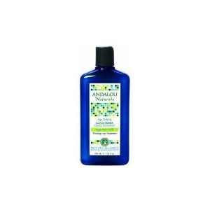 Andalou Naturals Conditioner, Age Defying, Argan Stem Cells, Thinning Hair (Defying Treatment Conditioner)