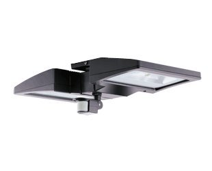 RAB Lighting CLED2X26YMS/BLLED Ceiling Light with 2 X 26W Warm and Mini Sensor, Bilevel Bronze by RAB Lighting