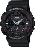 Men's Black G-Shock Analog Digital Anti-Magnectic (model number GA-120-1ADR) (G Shocks X Large)