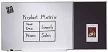 Quartet B2323 Quartet Matrix Bulletin Board, Woven Fabric, 23 x 23, Gray, Aluminum Frame