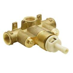 Exacttemp 3/4 Thermostatic Tub - MOEN S3371 Exacttemp 3/4 In. Ips Connection Includes Check Stops