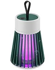 Aidou Myggdödare lampa tyst elektrisk insektsfångare bärbar 360° UV effektiv attraktion flygfälla lampa USB uppladdningsbar myggfångare lampa utomhus inomhus insektsdödare lampa grön